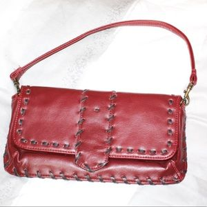 Old navy red clutch